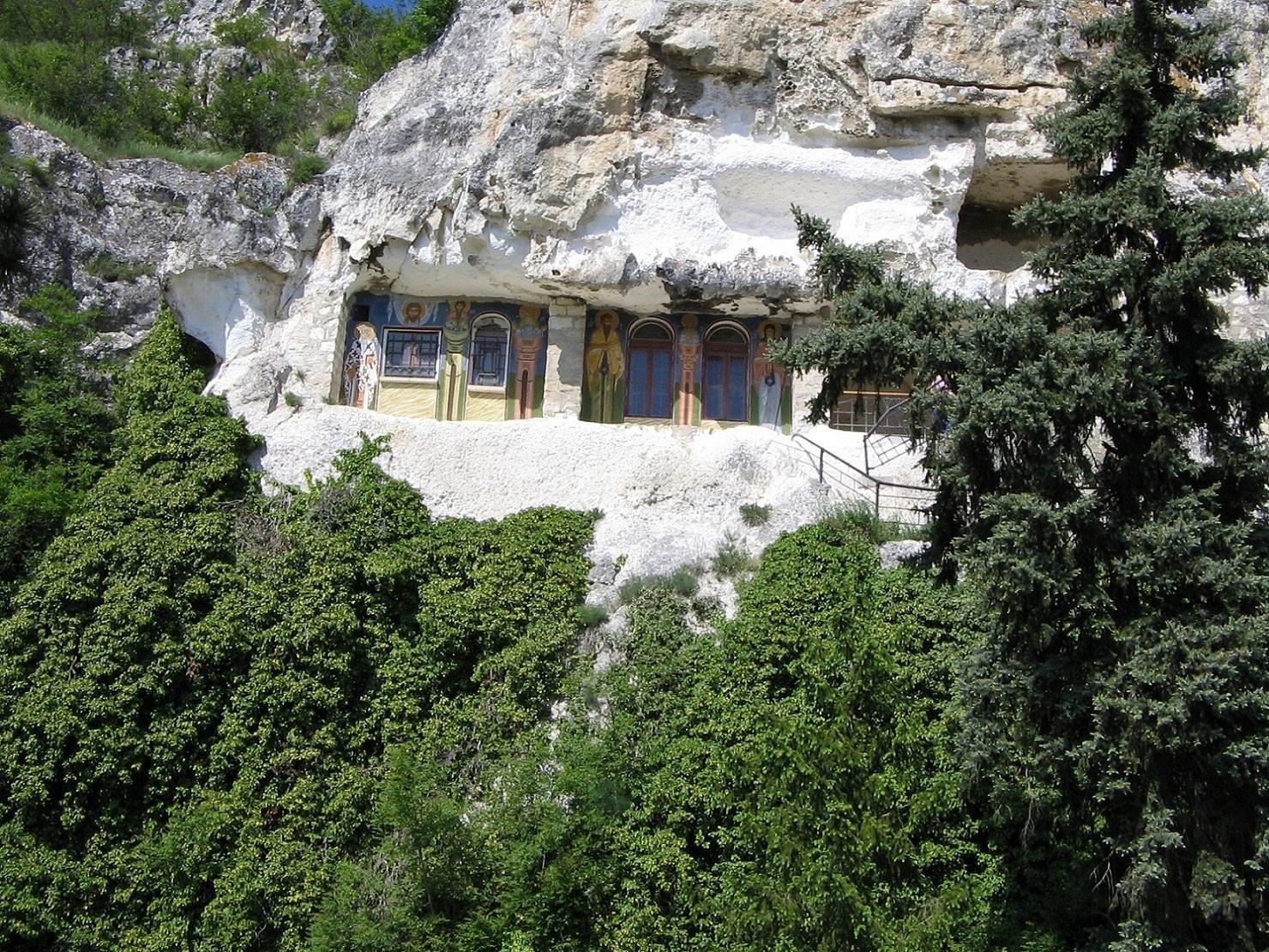 скалният манастир Св. Димитър Басарбовски Копие